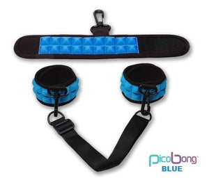 Picobong Resist No Evil Cuffs in Black, Blue or Cerise Award-Winning & Famous - PicoBong PicoBong Blue