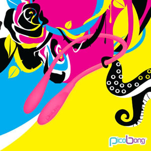 Picobong Transformer Double-Ended Vibrator Yellow or Cerise Or Black Award-Winning & Famous - PicoBong PicoBong