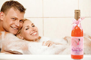 Pink Champagne Bubble Bath With Real California Champagne And Pheromone For Us - Bathtime Fun Pipedream Products
