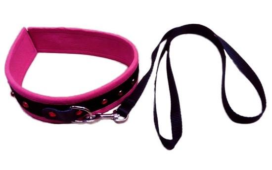 Pink Collar With Ruby ( Limited Stock )(Good Reviews)