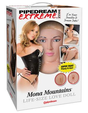 Pipedream Extreme Dollz Mona Mountains Life Size Love Doll For Him - Love Dolls Pipedream Products