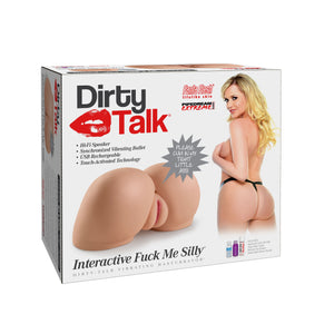 Pipedream Extreme Toyz Dirty Talk Interactive Fuck Me Silly 4.76 Kg Male Masturbators - Pipedream Extreme Toyz Pipedream Extreme Toyz