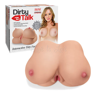 Pipedream Extreme Toyz Dirty Talk Interactive Titty Fuck-Her Male Masturbators - Pipedream Extreme Toyz Pipedream Extreme Toyz