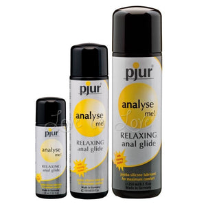 Pjur Analyse Me Relaxing Anal Glide Silicone Lube 30 ml 100 ml 250 ml Lubes & Toy Cleaners - Anal Lubes & Creams Pjur