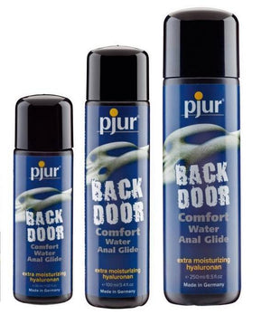 Pjur Back Door Comfort Water Based Anal Glide 30 ml 100 ml or 250 ml Lubes & Toy Cleaners - Anal Lubes & Creams Pjur