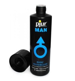 Pjur Man Basic Personal Glide Water Based Lubricant 100 ML or 250 ML ( Newly Replenished) Water Based Pjur 100 ml (3.4 fl oz)