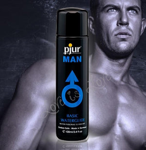 Pjur Man Basic Personal Glide Water Based Lubricant 100 ML or 250 ML ( Newly Replenished) Water Based Pjur