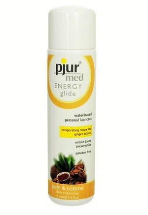 Pjur Med Energy Glide Water Based Lube 100 ML 3.4 FL OZ Lubes & Toys Cleaners - Natural & Organic Pjur Default Title