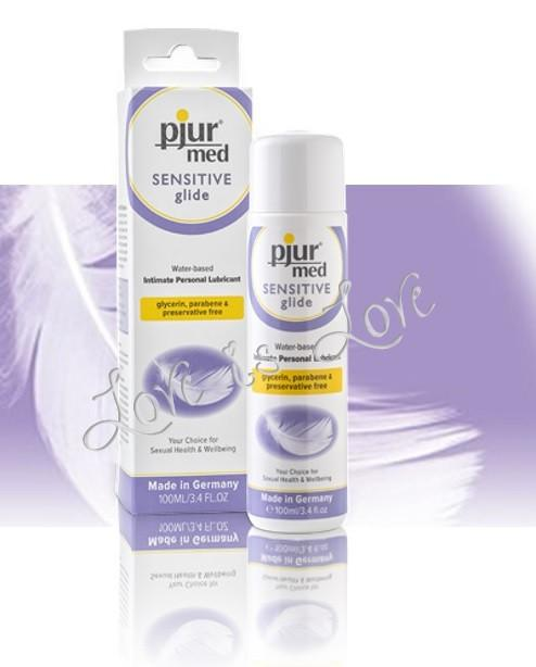 Pjur Med Sensitive Glide Water based Lubricant 100 ML 3.4 FL OZ