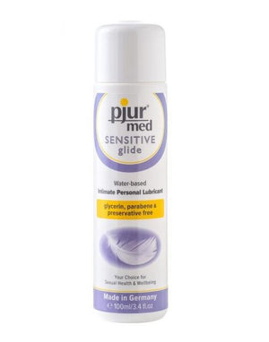 Pjur Med Sensitive Glide Water based Lubricant 100 ML 3.4 FL OZ Lubes & Toys Cleaners - Natural & Organic Pjur Default Title