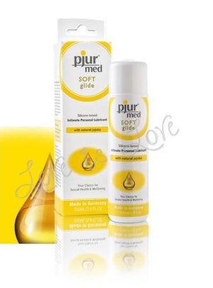 Pjur Med SOFT Glide Silicone Based Intimate Personal Lubricant 100 ML 3.4 FL OZ Silicone Based Pjur