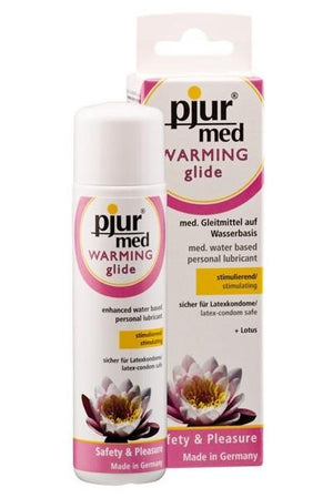 Pjur Med Warming Glide 100 ML 3.4 FL OZ Lubes & Toys Cleaners - Natural & Organic Pjur 100 ml (3.4 fl oz)