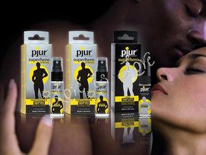 Pjur Superhero Performance for Men 20 ML Enhancers & Essentials - Delay Pjur