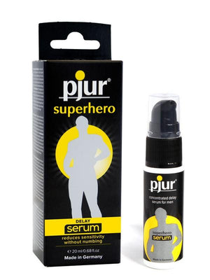 Pjur Superhero Performance for Men 20 ML Enhancers & Essentials - Delay Pjur Pjur Superhero Concentrated Delay Serum 20 ML (0.68 fl oz)