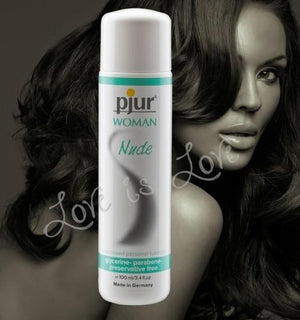 Pjur Woman Nude Waterbased Personal Lubricant 30 ML or 100 ML Water Based Pjur