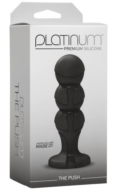 Platinum Premium Silicone The Push Black