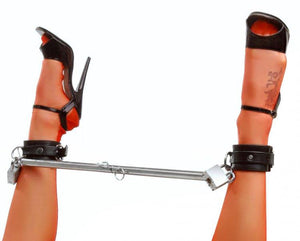 Premium Adjustable Spreader Bar UT598 in Steel or Black Steel (Good Reviews) Bondage - Spreader Bars XRLLC