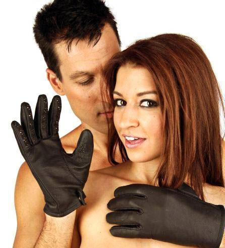 Premium Leather Vampire Gloves Medium And Large Sizes (Good Reviews)