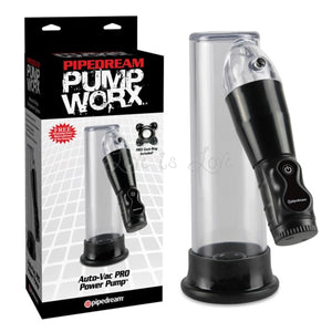 Pump Worx Auto-Vac Pro Power Pump For Him - Pump Worx Pipedream Products