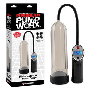 Pump Worx Digital Auto-VAC Power Pump For Him - Pump Worx Pump Worx