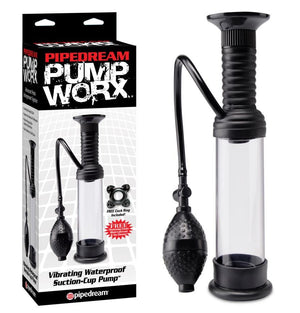 Pump Worx Vibrating Waterproof Suction-Cup Wall Banger Pump For Him - Pump Worx Pump Worx