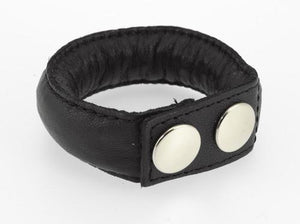 RIM 7388 Rimba Weighted Leather Cock Ring, 150 grams For Him - Cock Rings Rimba