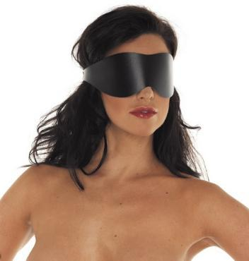 RIM 7602 Simple Leather Blindfold