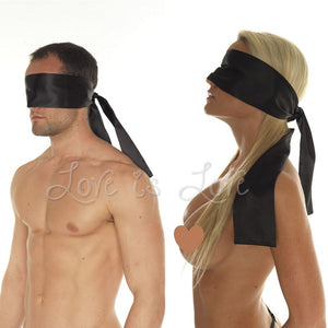 Rimba Soft Smooth Tie Back Blindfold RIM 7820 Bondage - Blindfolds & Masks Rimba