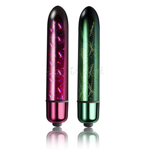 Rocks-Off 10 Speed Holographic Slim Bullet 90 MM Electra Or Spectra Award-Winning & Famous - Rocks-Off Rocks-Off