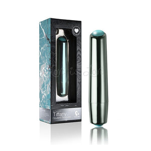 Rocks-Off 10 Speed Opulent Pleasures Tiffany Bullet Vibe 3.75 Inch Award-Winning & Famous - Rocks-Off Rocks-Off