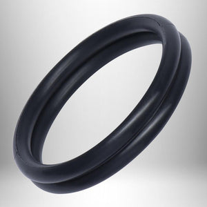 Rocks-Off Rudy Rings Stand Proud - Tear And Share Black or Blue For Him - Cock Rings Rocks-Off Black