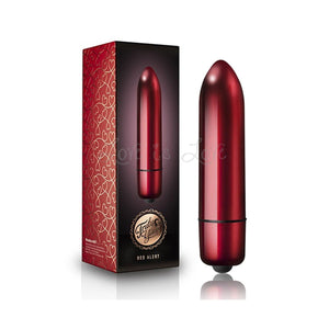 Rocks-Off Truly Yours Red Alert 10 Functions 120 MM Vibrator Award-Winning & Famous - Rocks-Off Rocks-Off