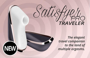 Satisfyer Pro Mini Traveler with Case (Newly Replenished on Dec 18) Vibrators - Clitoral Suction Satisfyer