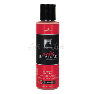Sensuva Erosense Water-Based Strawberry Lube 4.2 fl oz Lubes & Toy Cleaners - Flavoured Lubes Sensuva