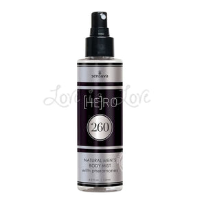 Sensuva [HE] RO 260 Men Pheromone-Infused Body Mist 125 ml (4.2 fl oz)(Newly Replenished) Enhancers & Essentials - Drive Boosters & Potions Sensuva