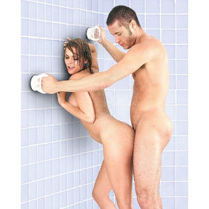 Sex In The Shower Single Locking Suction Handle (Popular Gift Idea For Shower Sex) For Us - Sexual Positioning Sex In The Shower