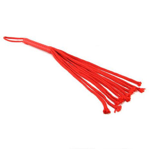 Sex & Mischief Red Rope Flogger 24 Inches Bondage - Ropes & Tapes Sex & Mischief