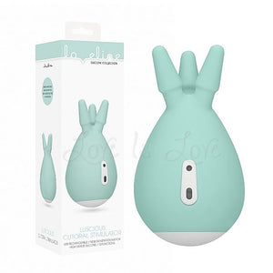 Shots Loveline Luscious Clitoral Stimulator Mint Green Vibrators - Clitoral & Labia Shots