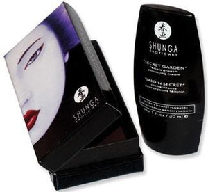 Shunga Secret Garden Female Clitoral Orgasm Enhancing Cream (New Expiry Year 2023) Enhancers & Essentials - Aromas & Stimulants Shunga