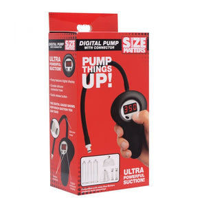 Size Matters Digital Pump with Connector For Him - Penis Pumps & Enlargers Size Matters