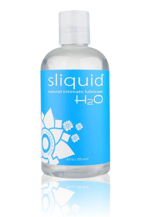 Sliquid Naturals Intimate H2O Lube 2oz or 4.2oz or 8.5oz (Newly Replenished!) Lubes & Toys Cleaners - Natural & Organic Sliquid 255 ml (8.5 fl oz)