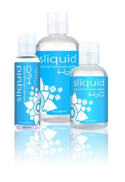 Sliquid Naturals Intimate H2O Lube 2oz or 4.2oz or 8.5oz