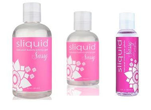 Sliquid Naturals Sassy Water Based Anal Gel 2oz or 4.2oz or 8.5oz Lubes & Toy Cleaners - Anal Lubes & Creams Sliquid