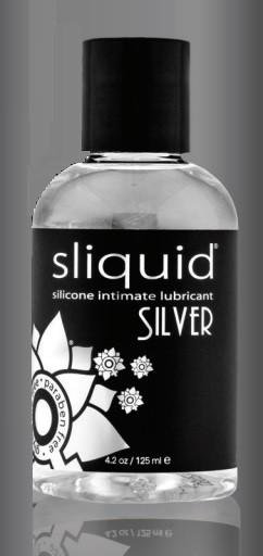 Sliquid Naturals Silver Silicone Lube 2 oz or 4.2 oz or 8.5 oz Lubes & Toys Cleaners - Silicone Based Sliquid