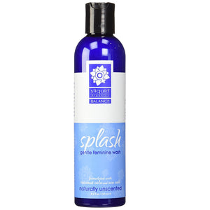 Sliquid Organics Splash Gentle Feminine Wash 255ml/8.5fl oz [Clearance] Enhancers & Essentials - Hygiene & Intimate Care Sliquid Naturally Unscented