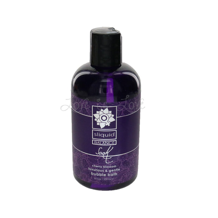 Sliquid Balance Soak Cherry Blossom 8.5oz