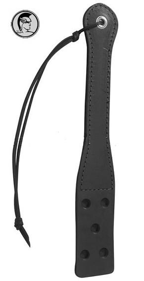 Spartacus Leather High Quality Leather Slapper With Holes Bondage - Spartacus Bondage Gear Spartacus