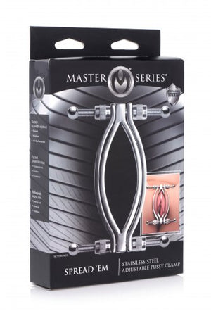 Master Series Stainless Steel Adjustable Pussy Clamp