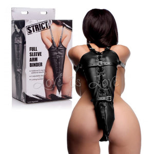 STRICT Full Sleeve Arm binder (Highly Rated) Bondage - Armbinders & Suspension STRICT