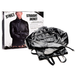 STRICT Straight Jacket Small Or Medium Or Large Bondage - Bondage & Restraint Kits STRICT
